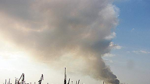 Центр Одеси тепер без диму