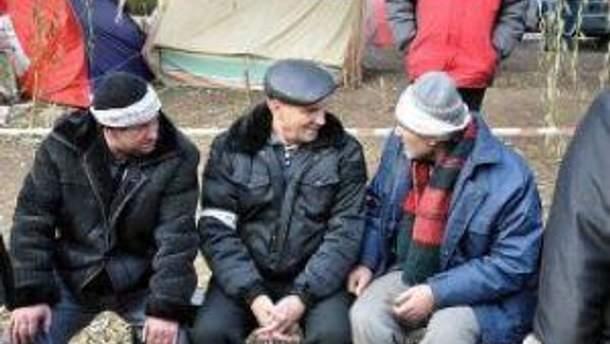 Чернобыльцы не будут прекращать акции протеста