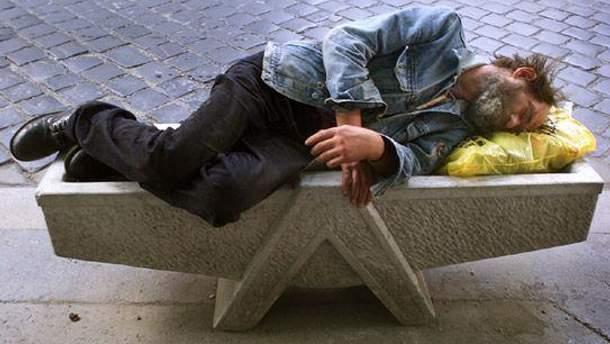 Угорським безпритульним заборонили ночувати на вулиці