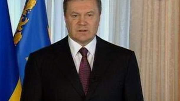Янукович закликає бути єдиними у прагненнях та діях