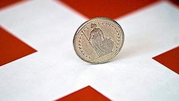 Сильний курс франка не грає на руку Швейцарії
