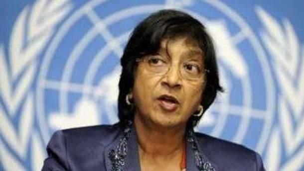 Нави Пиллай сообщает о 4 тысячах жертв в Сирии