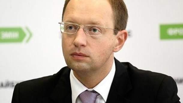 Яценюк опроверг информацию про 130 гривен за участие в митинге