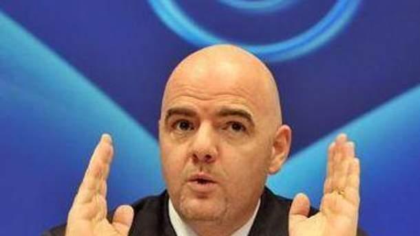 Инфантино уверен в долгосрочном эффекте от Евро