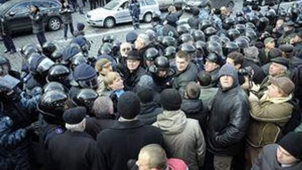 Чорнобильці у Києві
