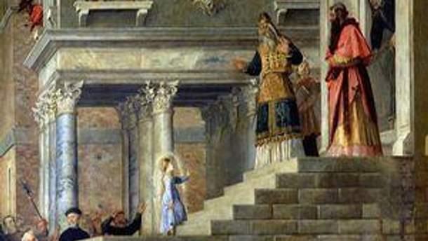 Введення в храм Пресвятої Діви