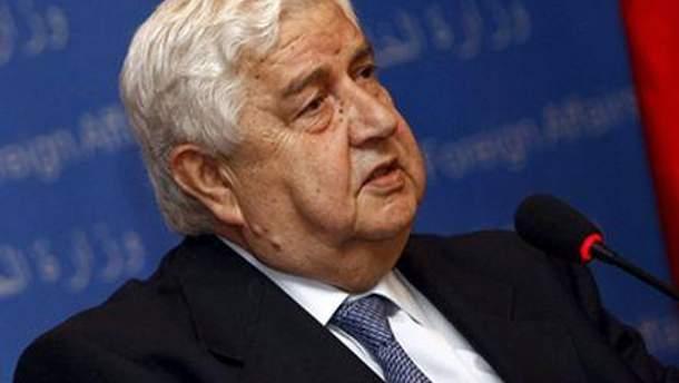Валід аль-Муаллем дав згоду на введення спостерігачів
