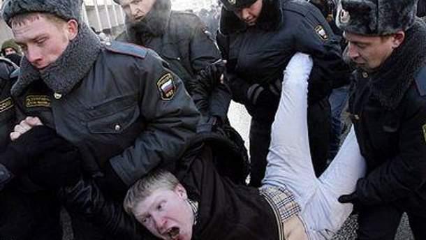 Мітингувальники незадоволені розгоном протестів у Москві