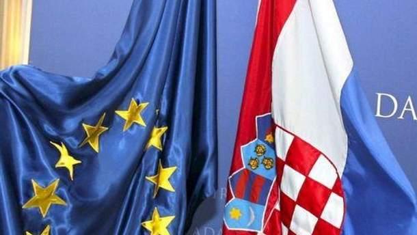 Хорватия станет 28 членом ЕС
