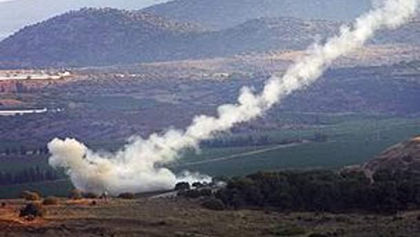 Ракети випустили у відповідь на обстріл зі сторони Палестини