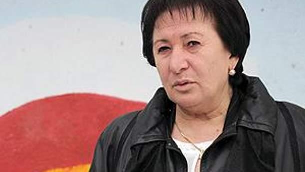 Екс-кандидат у президенти Південної Осетії Алла Джиоєва