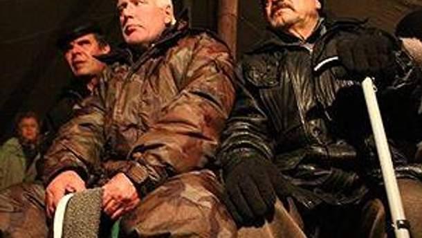 """Донецькі """"чорнобильці"""" хочуть компенсації для всіх"""