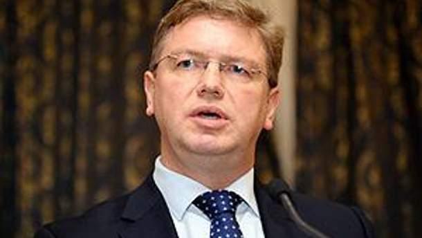Штефан Фюле санкціоновано зустрівся з Тимошенко