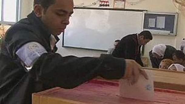 В Египте голосуют