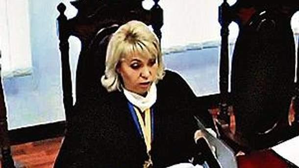 Председательствующая по делу Тимошенко судья Елена Ситайло