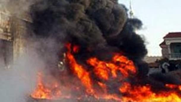 Друга черга вибухів пролунала біля лікарні