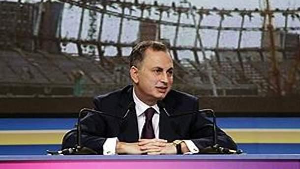 Віце-прем'єр-міністр — міністр інфраструктури Борис Колесніков