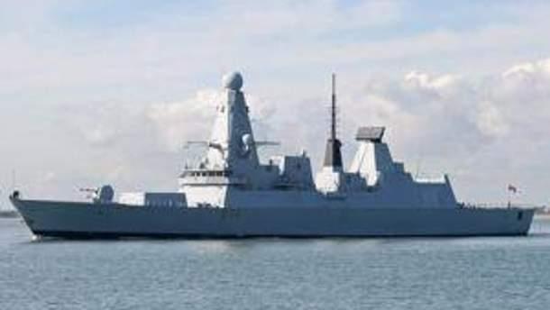 Новий HMS Daring