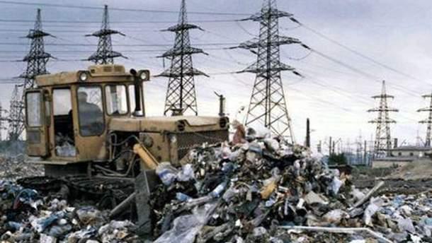 У 2007-ому році на одного киянина припадало 600 кг відходів