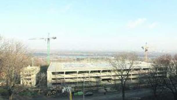 Вертолетная площадка в Киеве