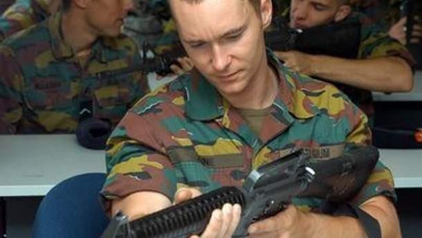 Бельгийский солдат