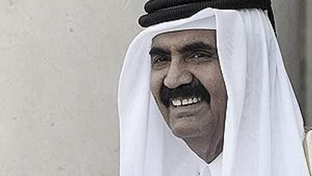 Эмир Катара шейх Хамад бен Халифа Тани