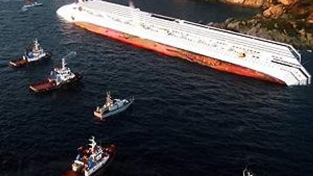 Судно Costa Concordia