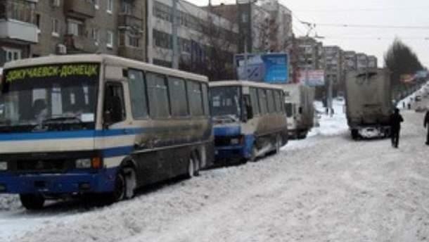 Автоперевозчики массово отменяют рейсы из-за морозов
