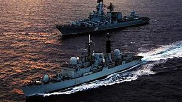 ВМС Ирана демонстрируют силу