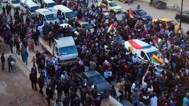 Протестующие пытались ворваться в отель, где проходит конференция