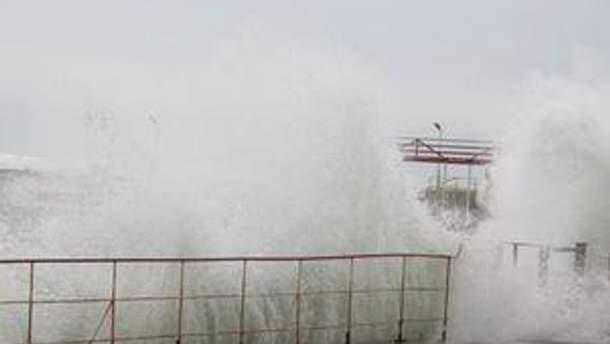 В Крыму прогнозируют дождь с мокрым снегом