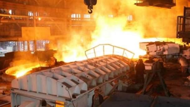 Метал зайняв третє місце в експорті України у 2011 році