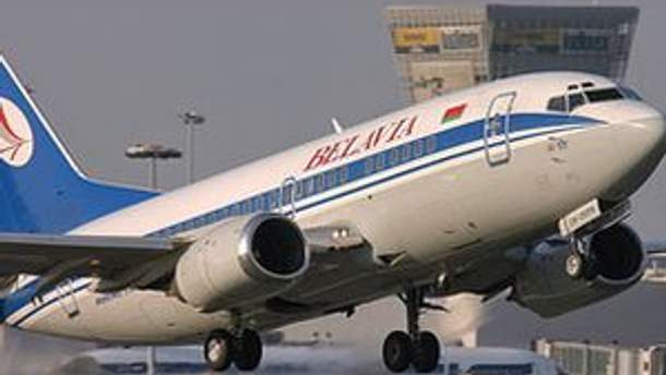 Літак білоруських авіаліній