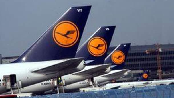 Літаки компанії Lufthansa