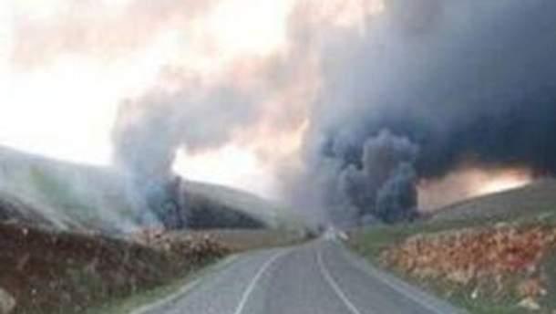 Взрыв нефтепровода в Ираке