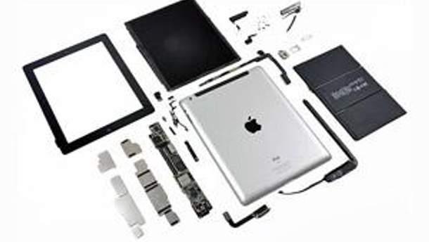 Разобранный iPad