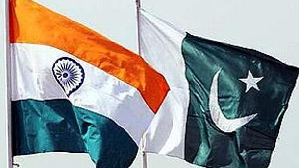Прапори Індії та Пакистану