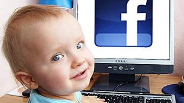 Дети пользуются Facebook