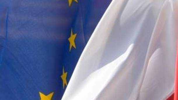 Флаги Беларуси и ЕС