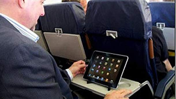 Пассажир с iPad