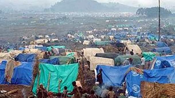 Сомалійські біженці у таборі