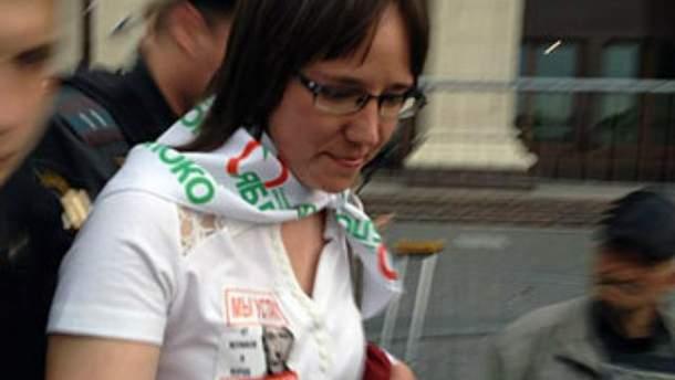 Затримання у центрі Москви