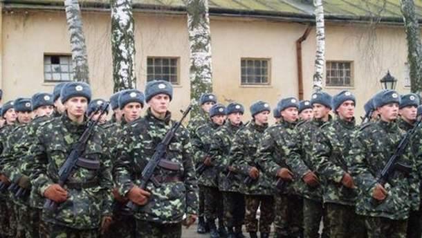 Принятие присяги в воинской части А4623