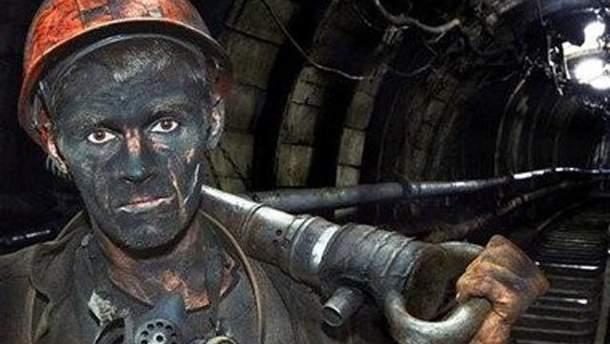 Гірник у шахті