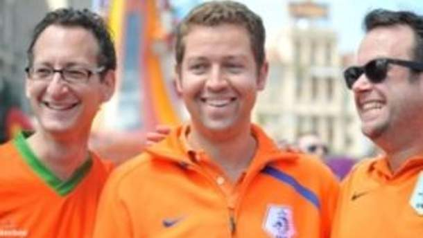 Фанати збірної Нідерландів