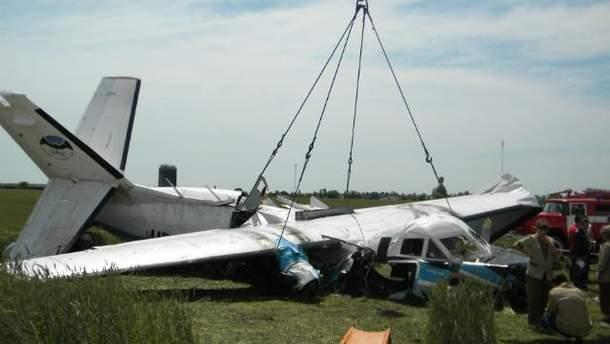 Авария самолета Л-410