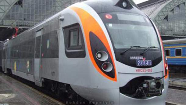 Новий потяг Hyundai