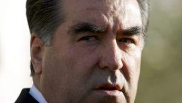 Президент Таджикистану Емомалі Рахтон