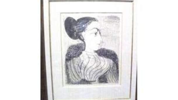 Літографія Пікассо