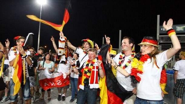 Німецькі фанати